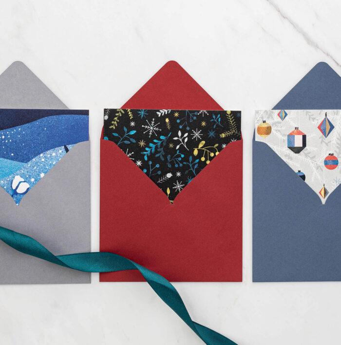 kartki w kopertach
